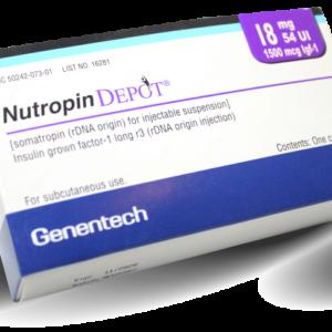 Nutropin Depot 54 UI + 1500mcg igf-1